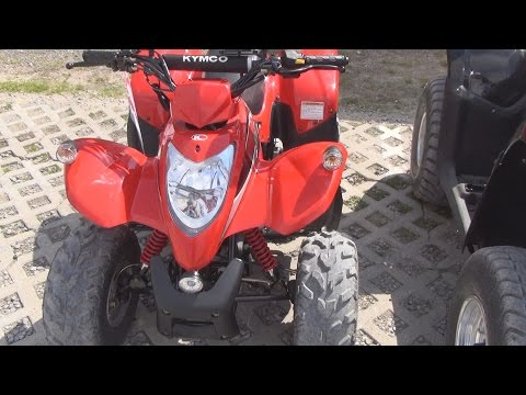Kymco Maxxer 50 ATV Exterior and Interior in 3D