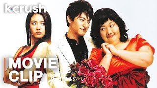 After plastic surgery, her crush doesn't recognize her   Clip from '200 Pounds Beauty'