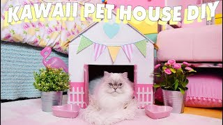 RIDICULOUSLY CUTE PET HOUSE DIY 🏠💕🐈