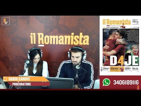 VIDEO - Dario Canovi a Il Romanista TV: