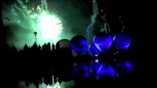 Montgolfière et lumière