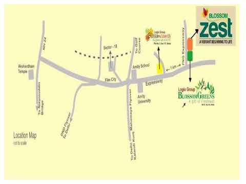 Logix Blossom Zest Ultra modern Society Noida Expressway