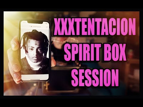 XXXTENTACION Spirit Box Sessions. HE SPEAKS through the SoulSpeaker.
