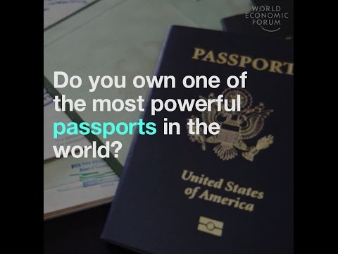 Do you own one of the most powerful passports in the world?