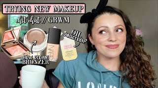 TRYING NEW MAKEUP I BOUGHT // Chit Chat GRWM