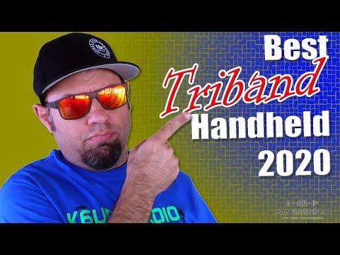 Best Handheld Ham Radio TRI BAND for 2020 - Tri Band Radio Comparison