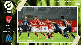Brest 2-3 Marseille - HIGHLIGHTS & GOALS - 8/30/2020
