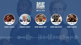 UNDISPUTED Audio Podcast (05.23.19) with Skip Bayless, Shannon Sharpe & Jenny Taft   UNDISPUTED