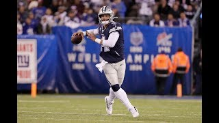 Dak Prescott | 2019 First Half Highlights ᴴᴰ