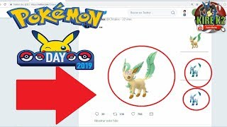 EVENTO POKEMON GO DAY ... SE VIENE  LEAFEON & GLACEON ?