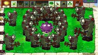 Plants VS Zombies Hack - Gloom-Shroom vs Dr. Zomboss