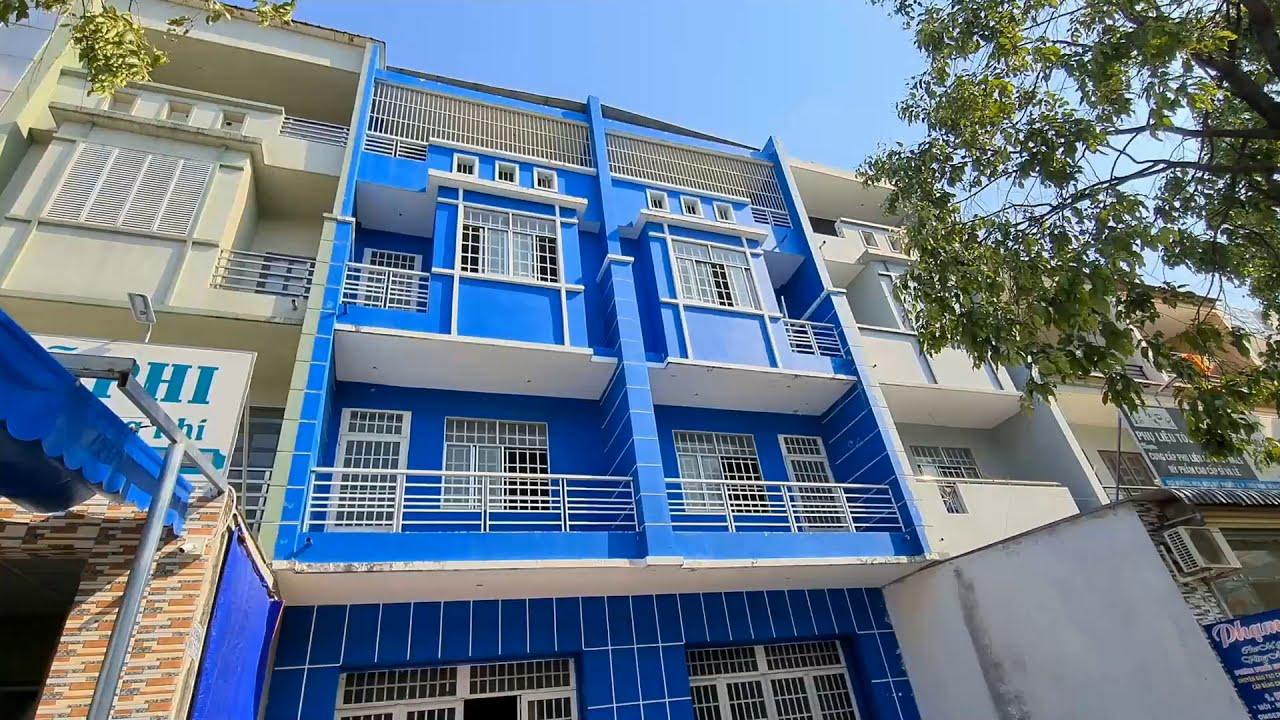 Bán cặp nhà rất đẹp mặt tiền NE8, Mỹ Phước, Bến Cát, 300m2, 4 tầng, 12 phòng video