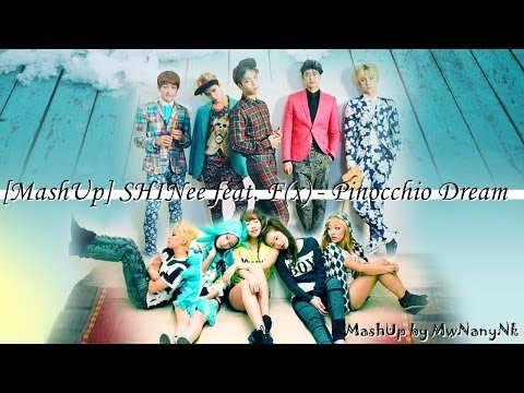 [MashUp] SHINee feat. F(x) - Pinocchio Dream