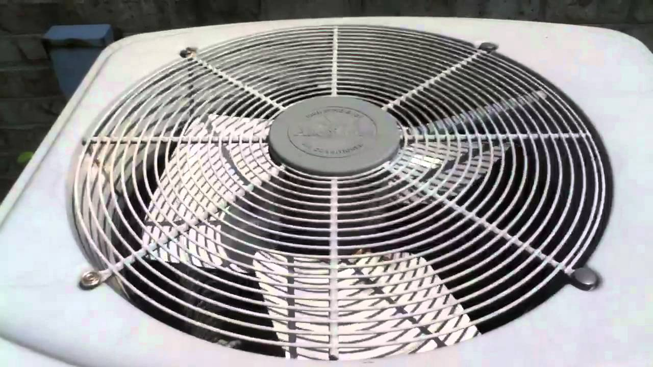 American Standard Allegiance 13 Air Conditioners Youtube