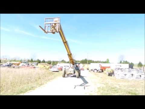 Gehl RS642 telehandler for sale | no-reserve Internet auction May 11, 2017