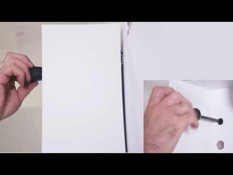 burgbad Montage Spiegeschrank Aushängesicherung