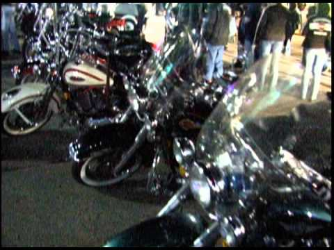 Fall Ride for Muscular Dystrophy - down town
