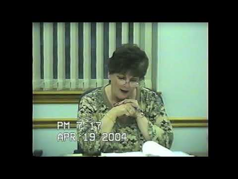 Rouses Point Village Board Meeting  4-19-04