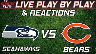 Seattle Seahawks vs Chicago Bears | Live Play-By-Play & Reactions