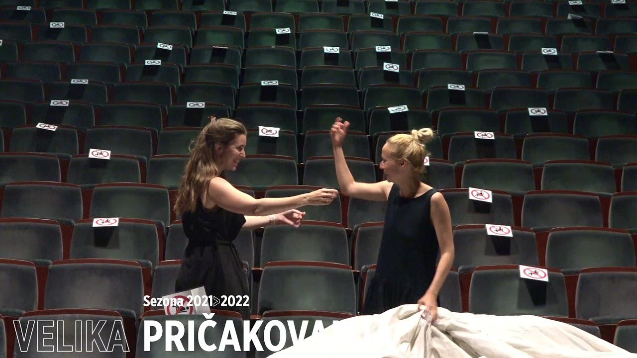 Velika pričakovanja | Viktorija Bencik Emeršič in Nina Rakovec #teaser