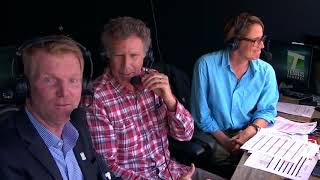 Will Ferrell Crashes Broadcast Booth In Indian Wells