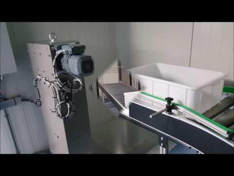 BCK rollenbaansysteem met verticale productlift