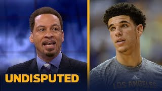Chris Broussard reacts to Lonzo Ball's summer league debut | UNDISPUTED