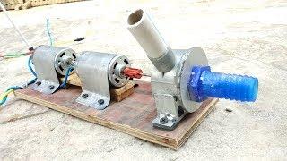 How to Make Powerful Dual Motar Water Pump