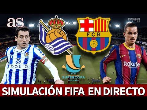 SUPERCOPA: Real Sociedad vs. Barcelona | FIFA 21: simulación de la semifinal | Diario AS