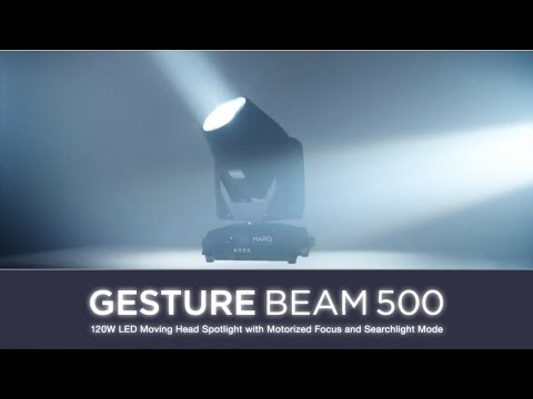 Marq Lighting Gesture Beam 500 120W LED Motorized Beam