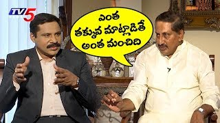 EX CM Kiran Kumar Reddy Exclusive Interview..