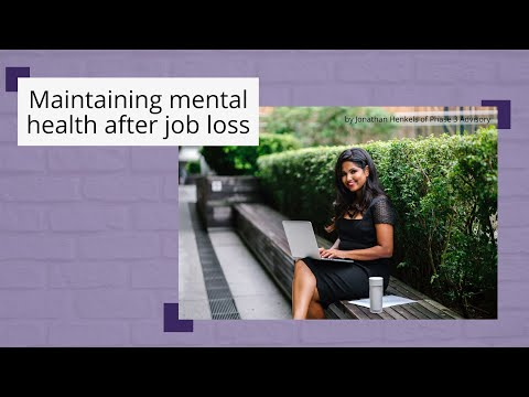 Protect Your Mental Health During Job Loss