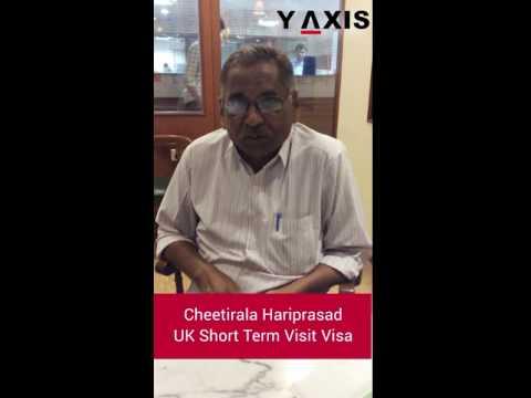 Cheetirala Hariprasad UK Short Term Visit Visa PC Jyothi Po