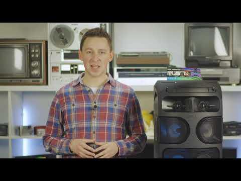 Специальные функции для вечеринки в аудиосистемах мощного звука Sony.
