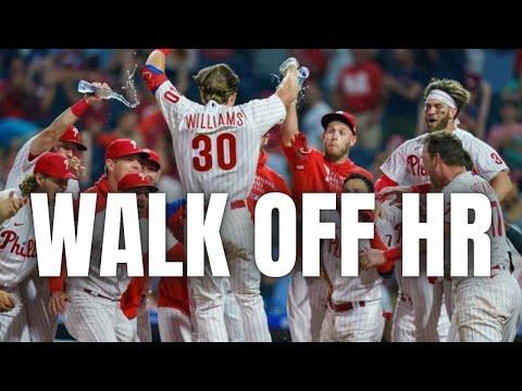 Luke Williams' 2-run walk-off HR Braves vs Phillies