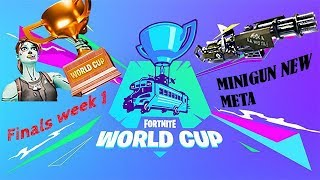 FORTNITE WORLD CUP - TOP PLAYS/HIGHLIGHTS - FINALS WEEK 1