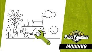 Pure Farming 2018 - Mod Támogatás