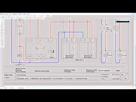 xrelais schema electrique