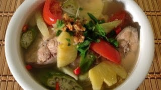 Canh Chua Ca-How To Make Vietnamese Sour Fish Soup-Vietnamese Food Recipe