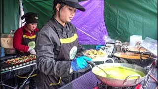 Food from Thailand, India, China. Colourful and Yummy London Street Food