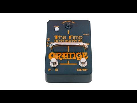 Orange Amp Detonator Buffered AB-Y Switcher Pedal