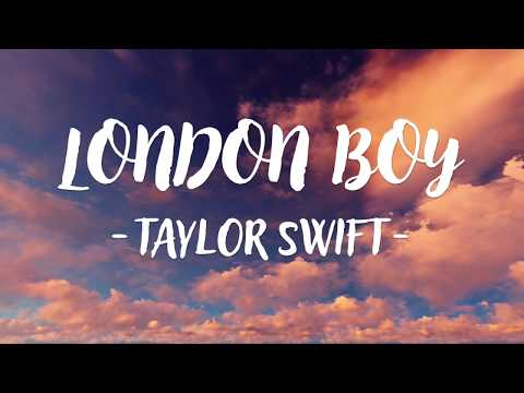 Taylor Swift - London Boy (Lyric Video)