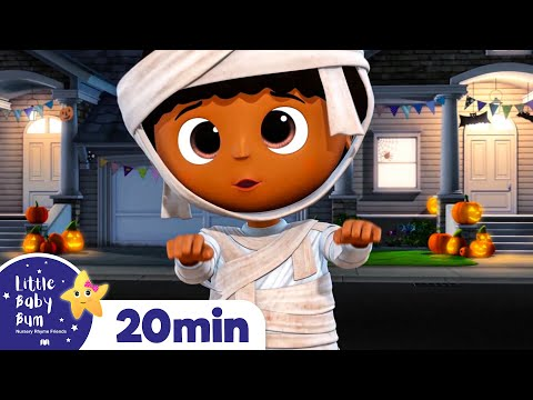 Spooky Halloween Compilation Part 3 | ALL Halloween Special +More Nursery Rhymes | Little Baby Bum