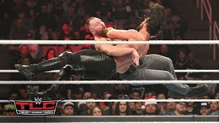 Dean Ambrose and Seth Rollins fight tooth-and-nail for the Intercontinental Title: WWE TLC 2018