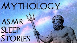 Greek Mythology Sleep Stories - Myth of Creation, Heracles, Trojan War, Odyssey (3.5 hours ASMR)