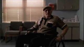 The Sopranos - Tony And Junior Talk Italy