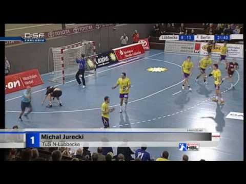 Top 5 Goals: Spieltag 9 der Handball Bundesliga Saison 2009/2010