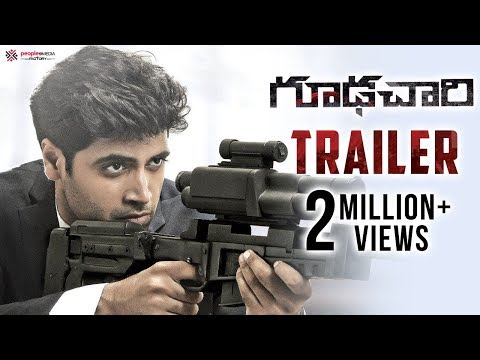 #Goodachari 4K Official Trailer