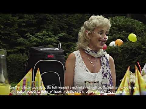 GCE Zen-O™ Přenosný kyslíkový koncentrátor - lifestyle video