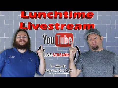 Lunchtime Livestream for August 18th